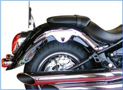 Picture of Halter f. Kawasaki VN 900 + VN 2000 / chrom