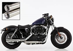 "Picture of Slip On ""Double Groove"" 2-2 Sportster XL 883/1200 / poliert / mit EG/ABE E3+E4"
