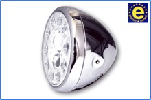 "Picture of LED-Hauptscheinwerfer ""Reno"" /  7"" / chrom"