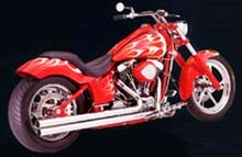 Picture of Auspuffanlage VANCE & HINES  Long Shots H.D. Softail ab Bj. 1986 inkl. Twin Cam 99