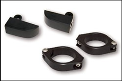 Picture of Blinkerhalter-Set Alu-schwarz / M8 / 42-43 mm