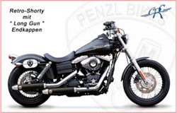 "Picture of Penzl ""Retro Shorty"" / Dyna/Street Bob / schwarz / ab Bj. 2008-16"