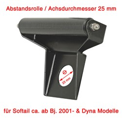 Picture of Abstandsrolle fest f. Dyna + Softail mit 25 mm Achse