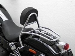 Picture of Fahrer Sissy Bar / H.D. Dyna Wide Glide / Bj. 2010 / chrom
