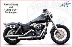 "Picture of Penzl ""Retro Shorty"" / Dyna/Street Bob / verchromt / bis Bj. 2003"