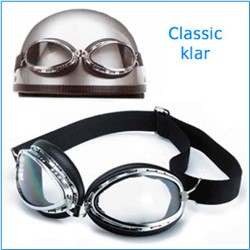 "Picture of Brille "" Goggle Classic "" klar / chrom"