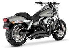 Picture of Auspuffanlage VANCE & HINES Big Radius 2 in 2 / schwarz / Dyna