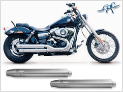 "Picture of Penzl ""Neo Classic"" / Fat Bob+Wide Glide/ gebürstet / ab 07"