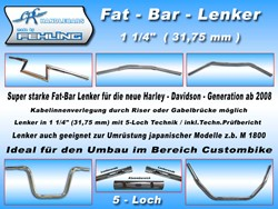 "Picture for category Fat Bar Lenker 1 1/4""(31,5mm)"