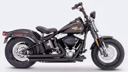 Picture of Auspuffanlage VANCE & HINES BigShots 2 in 2 / schwarz / Softail / Crossbone