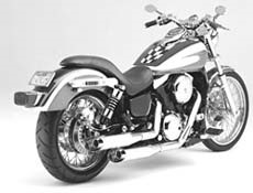 "Picture of Auspuffanlage Vance & Hines ""Slash Cut"" VN 800 Vulcan"
