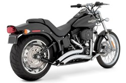 Picture of Auspuffanlage VANCE & HINES Big Radius 2 in 2 / chrom / SoftailBj. 86-12