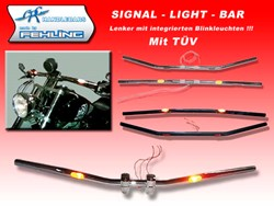 "Picture for category Signal Light Bar ""Blinkerlenker"""