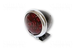 "Picture of  LED-Rücklicht ""Bates Style"" schwarz/rotes Glas"
