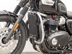 Picture of Motorschutzbügel Bonneville T 120 / Triumph Street Twin (ab 2016) / Bonneville T 100 ab Bj. 2017 / Protection Guard  schwarz / black