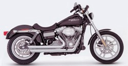 Picture of Auspuffanlage VANCE & HINES  Big Shots Staggered chrom Dyna ab Bj. 2006