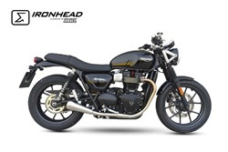 "Picture of  ""IRONHEAD"" TRIUMPH Street Twin / chrom / E 4 G/ABE / ab 2016"