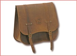 "Picture of Seitentasche ""Ranger Style""/ Antik-Leder braun"