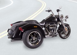 "Bild von Jekill & Hyde Big Shot  E4 ""TRIKE"" /  CHROM / FREEWHEELER"