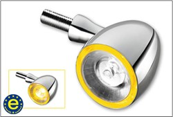 Picture of Kellermann-Blinker Bullet 1000 PL / Chrom / vorne