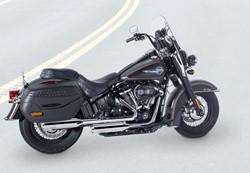 "Picture of Jekill & Hyde E3 + E4 ""Shorty""/ chrom / Softail"